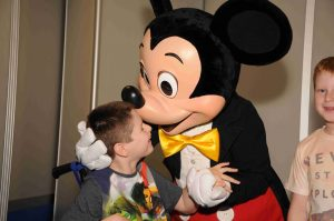Mickey Mouse and Sebastian